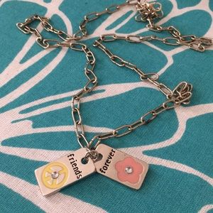Jewelry - Best Friends Double Charm Necklace. Give 1 Keep 1